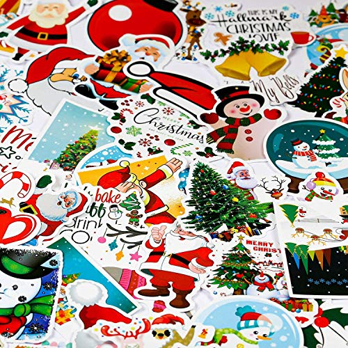 Aufkleber Pack Xpassion 100 Anders Vinyl Christmas Sticker für Weihnachts, Wasserdicht Graffitti Decals für Auto Motorräder Fahrrad Skateboard Snowboard Gepäck Laptop Koffer Pad
