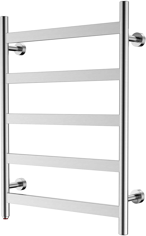 Fashion HEATGENE Towel Warmer 5 Flat Dryer Bar All items free shipping Wall-Mounted Plug-i