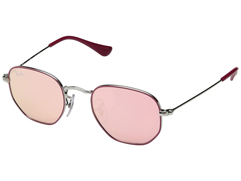 Ray-Ban Junior RJ9541SN 44 mm (Youth) (Fuchsia/Pink Flash) Fashion Sunglasses