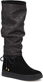 CW17093 Siyah Kadın Çizme
