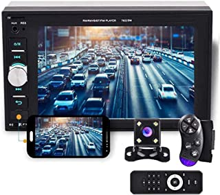 """Camecho 2 din Car Multimedia Player 1080P Full HD 6.2"""" LCD Touch Screen Car Stereo Audio MP5 Player Support Bluetooth/TF/U... photo"""