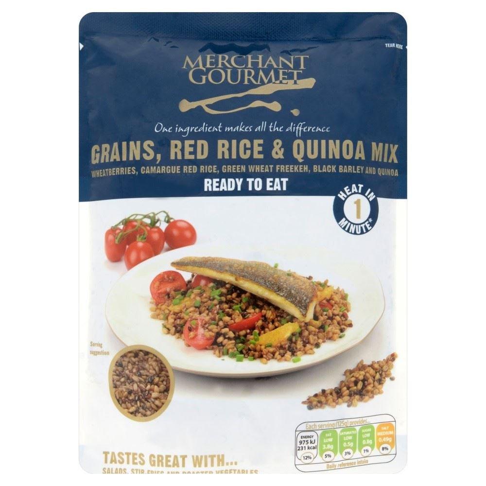 Merchant Gourmet Red Rice Quinoa Ranking TOP20 Mix Pack - 250g New York Mall of 6