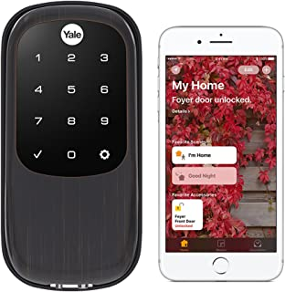 Yale Security YRD246-iM1-0BP Assure LOCK Yale Assure LOCK Key Free with IM1 Network Module (Homekit-Enabled) In (YRD246), Oil Rubbed Bronze