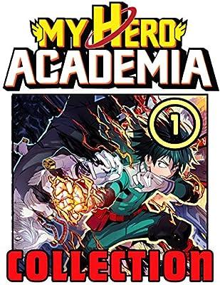 Academia: Book 1 Includes Vol 1 - 2 - 3- Great My Hero Academia Shonen Action Manga For Teens , Adults, Fan, Boys, Girls