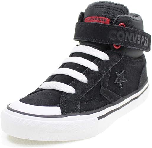 Converse Scarpe Alte A Strappo PRO Blaze Space Ride Bambino 665277C Nero
