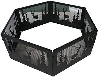 636643 36 Inch Wildlife Outdoor Backyard Fire Ring