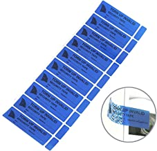 100pcs Tamper Evident Security Stickers,Solitary Walker Safety Prevent Opened Warranty Void Labels(1