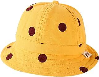 YUENA CARE Toddler Sun Hat UV Sun Protection Bucket Hats Summer Swim Caps for Boys Girls