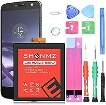 SHENMZ Motorola GV40 Battery 3600mAh Replacement Battery for Motorola Moto Z Droid Force XT1650-2 with Tools   Motorola GV40 Battery Replacement Kit [12 Month Warranty]