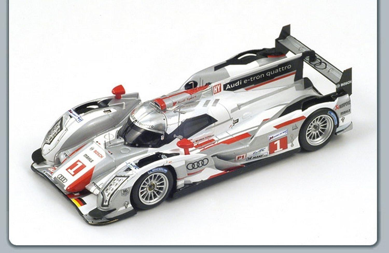 Las ventas en línea ahorran un 70%. Spark Model S43LM12 Audi R18 N.1 Winner Winner Winner LM 2012 Fassler-LOTTERER-TRELUYER 1 43 Compatible con  lo último