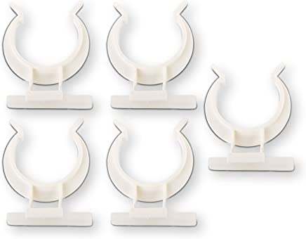 5er Set SO-TECH® Befestigungsclips für Sockelleiste