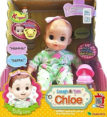 English Package Laugh & Talk Chloe Doll, Laugh & Talk Kong-Kong Kongsuni Series Baby Doll Talking Baby Doll Big Doll
