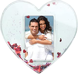 Neil Enterprises, Inc Heart Photo Snow Globe