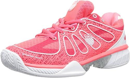 K-Swiss Performance KS Tfw Ultra-Express-Neon rouge blanc, Chaussures de de Tennis Femme