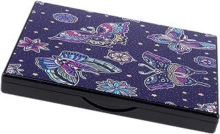 B Baosity メイクアップパレット DIY 化粧品 ケース 旅行 化粧鏡 ミラー付き 2タイプ選べ   - バタフライ