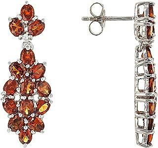 mandarin garnet jewelry