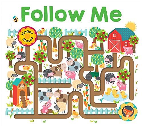 Follow Me: Maze Book (Finger Mazes)