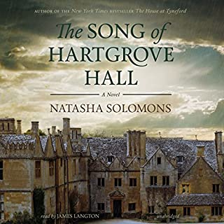 The Song of Hartgrove Hall audiobook cover art