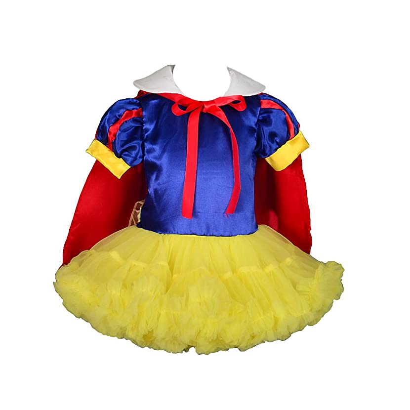 Dressy Daisy Girls' Snow White Princess Costume Halloween Fancy Dresses W/Cape