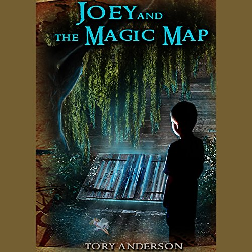 Joey and the Magic Map audiobook cover art