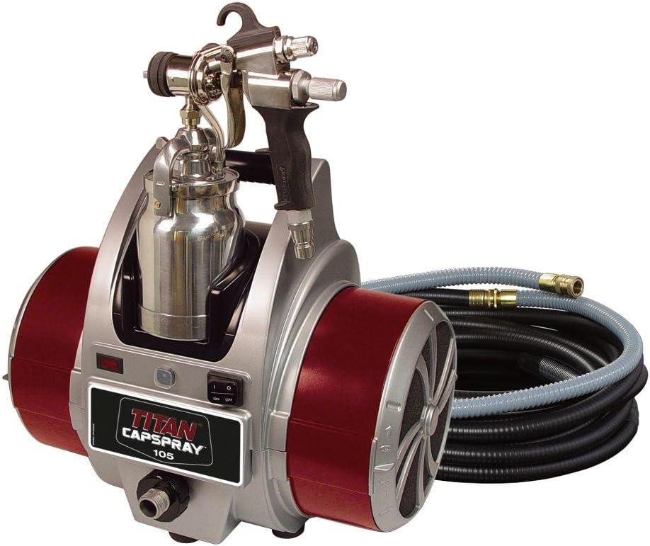Titan Department store Capspray 105 Fine-Finish Paint Sprayer 5% OFF HVLP