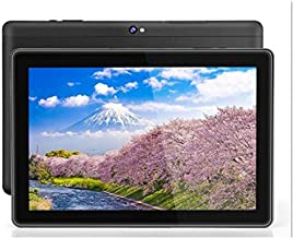 10 inch Android WiFi Tablet, Android 9.0 Pie, GMS Certified, Quad Core 64 bit,4GB RAM, 64GB Storage, IPS HD Display, Bluet...