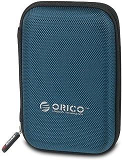 オリコ ORICO 2.5インチ HDD、SSD 収納ケース Samsung T5 SSD収納対応 ポータブルHDDケース 防震/防塵/防衝撃 5色 ブルー PHD-25-BL