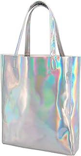 Segreto Hologramm Hologramm Hologramm Tote Bag PU Handtasche Schultertasche Big Bag für Geschenk