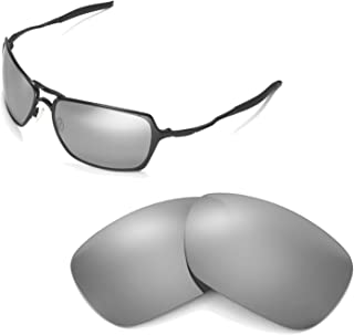 Walleva Replacement Lenses for Oakley Inmate Sunglasses - 9 Options Available