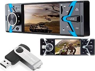 Som Automotivo Groove Tela 4' 1Din Bt Sd Usb Aux Mp5 Rádio + Pen Drive 8Gb Multilaser P3342, Dvd Automotivo