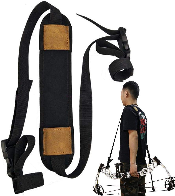 Compound Bow Archery Hunting Backpack Bag String Case Cover Holder Straps Belt