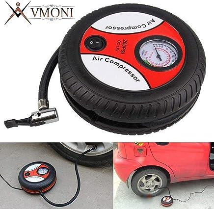 Vmoni DC12VPortable Electric Mini Tire Inflator Car Compressor Pump