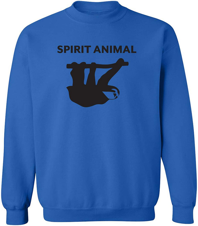 Spirit Animal Sloth Crewneck Sweatshirt