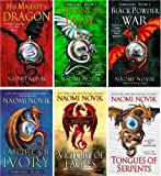 The Temeraire Series Collection Set (His Majesty's Dragon, Throne of Jade, Black Powder War, Empire of Ivory, Victory of Eagles, Tongues of Serpents, Books 1-6)