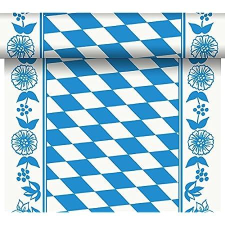 Dunicel Tischläufer Tete a Tete 0,40 X 24 Meter Bayernraute Oktoberfest