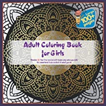Adult Coloring Book for Girls Mandala - Your true success in life begins only when you make the commitment to be excellent at what you do.