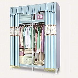 daily supplies Armoire Portative, Assemblage Facile et Grande Capacité Armoire de Rangement pour Vêtements Organisateur de...