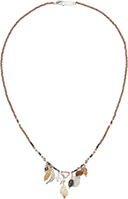 Chan Luu - Beaded Necklace with Charms