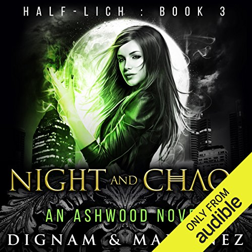 Night and Chaos audiobook cover art