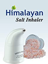 Himalayan Pink Salt Inhaler & 180g Pink Salt - All-Natural Respiratory Aid from Select Health & Wellness