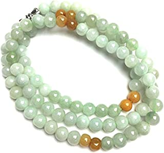jadeite jade bead necklace