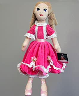 Nutcracker Ballet Gifts Plush Clara Doll- Clara Ballerina Doll Toy- Inspired by The Nutcracker Ballet, 12 inch