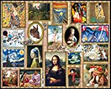White Mountain Puzzles Great Paintings - 1000 Piece Jigsaw Puzzle
