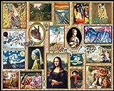 White Mountain Puzzles Tolles Gemälde Puzzle