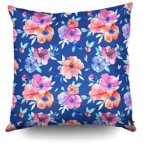 Fodera per cuscino da tiro per divano,fodera per cuscino quadrata da 40 x 40 cm (16 pollici),fodere per cuscini,decorazioni per divani,decorazioni floreali per divani,2 pezzi