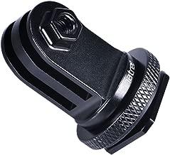 Smatree Full Aluminum Tripod Screw to DSLR Camera Flash Hot Shoe Mount Adapter Compatible for GoPro MAX/8/7/6/5/4/3+/3,GOPRO Hero 2018/DJI OSMO Action Camera