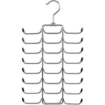 mDesign Perchero de pared - Práctico colgador de cinturones y ...
