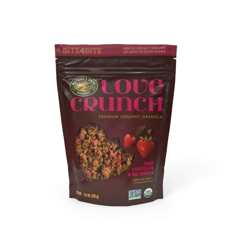 Columbus Mall Ranking TOP15 Love Crunch Organic Granola Dark Chocolate Berries Red 11.5