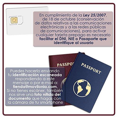 Tarjeta SIM Orange - Tarifa Llama -4G - 5€ de saldo inicial incluido