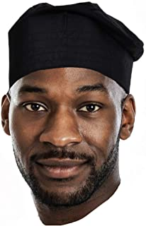 Dupsie`s Black African Cotton Kufi Hat